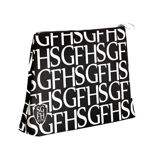 SGFH Logo Leather Clutch