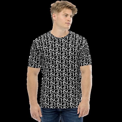 Saint George Fashion House Men's Logo Black T-Shirt