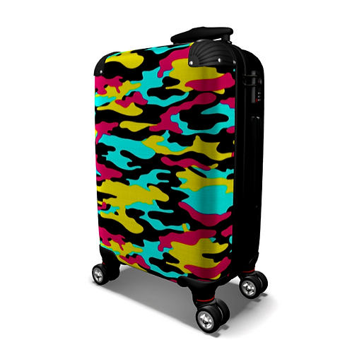 SGFH Camo Carry On Luggage