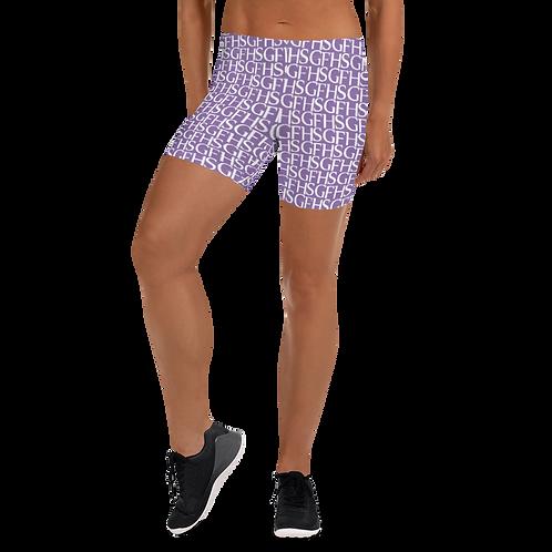 Saint George Fashion House Purple Shield Women's Shorts