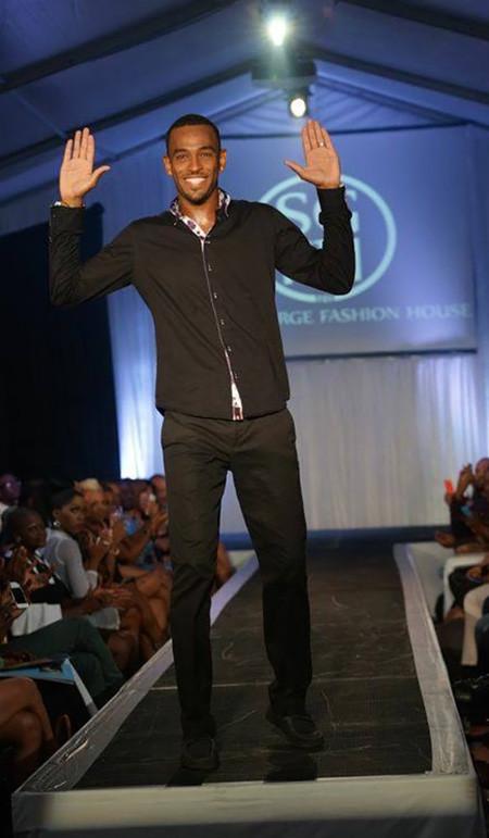 Kazz Forbes at Islands of the World Fashion Week - Nassau, Bahamas