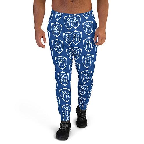 Saint George Fashion House Shield Blue Men's Joggers