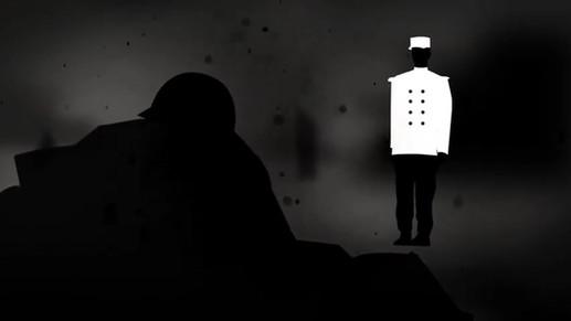 L'armistice raconté par un ancien poilu en animation 2D de personnages