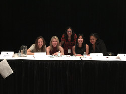 Wordstock with Rebecca Dinerstein, Polly Dugan, Cecily Wong, and Rachel Fershlei
