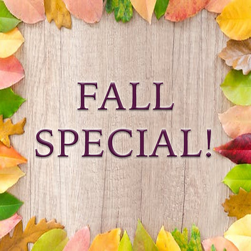 Gel Manicure & Spa Pedicure Fall Special!