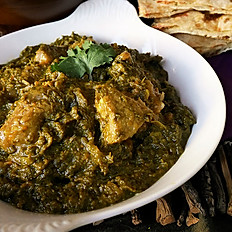 Saag (Spinach) Curry