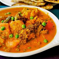 Vegetable Tikka Jalfrazi