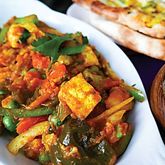Jalfrazi (Mixed Veggies) Curry