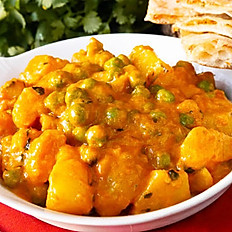 Aloo Mutter (Vegan)