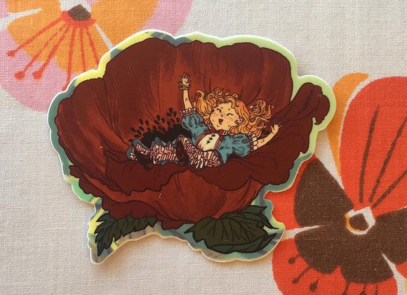 Alice's Nap Sticker