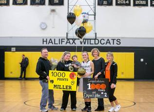 Miller reaches Milestone for Halifax