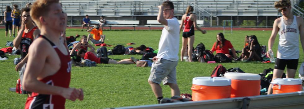 Garrett Baublitz Boys Track MVP