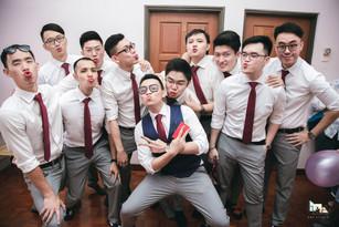 Groomsmen Squad