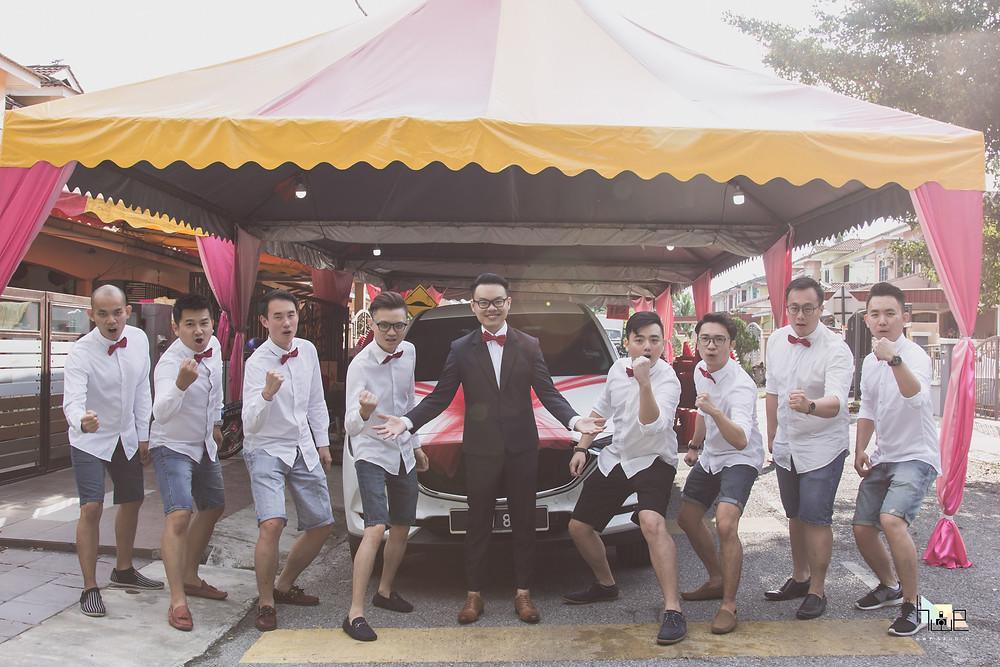 Groomsmen Photography Perak