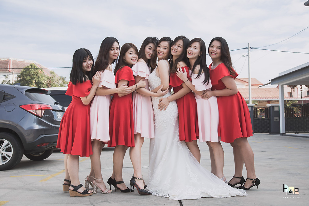 Bridesmaids Photography Perak