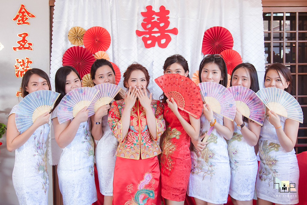 bridesmaids photography