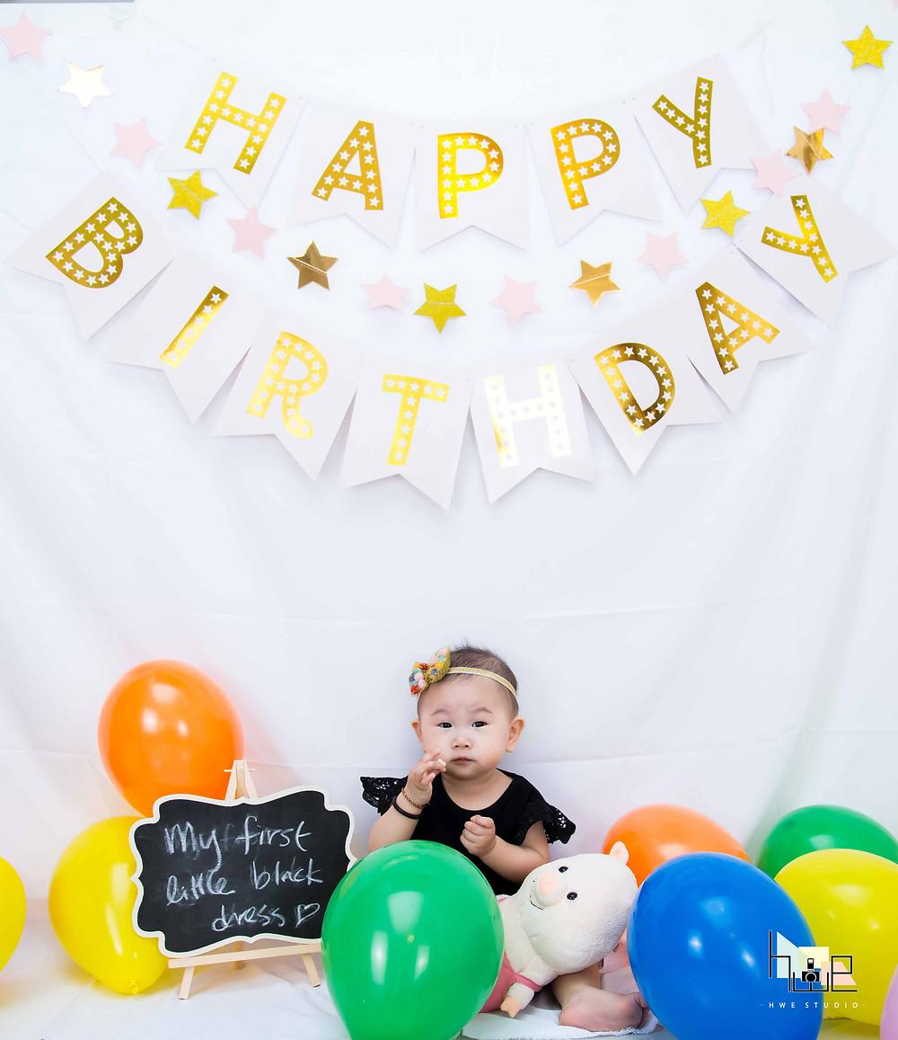 Baby Birthday Photography