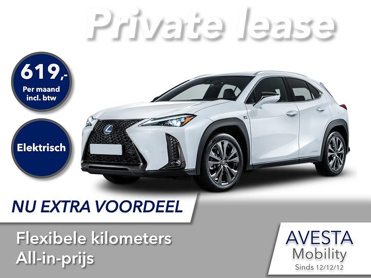 Lexus UX250H | Hybride zonder plug-in