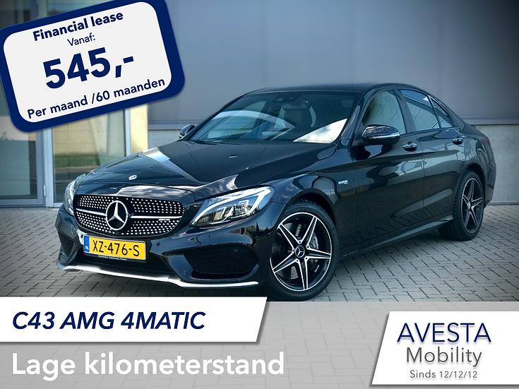 Mercedes C-klasse 43 AMG 4MATIC | Schuifdak | 11/2017