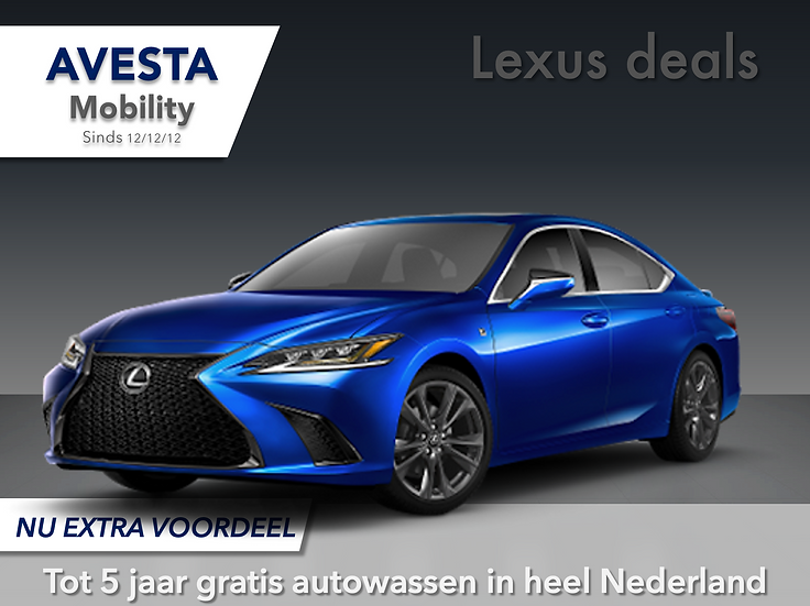 Lexus ES300H | F Sport | Actieprijs | 2020