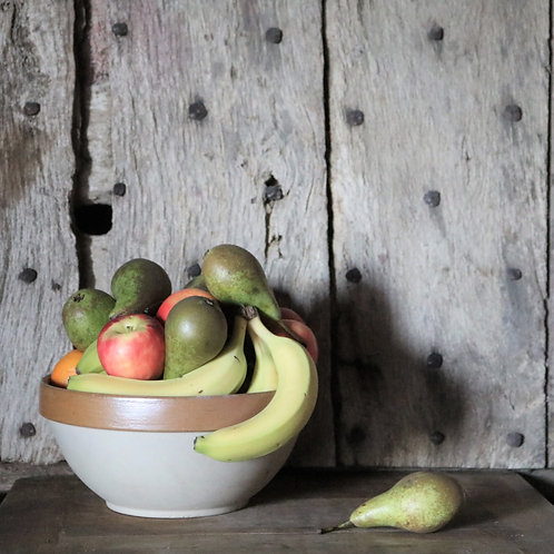French Farmhouse Vintage Mixing Bowl