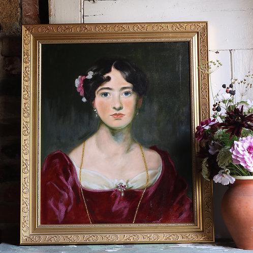 Original Portrait of a Lady