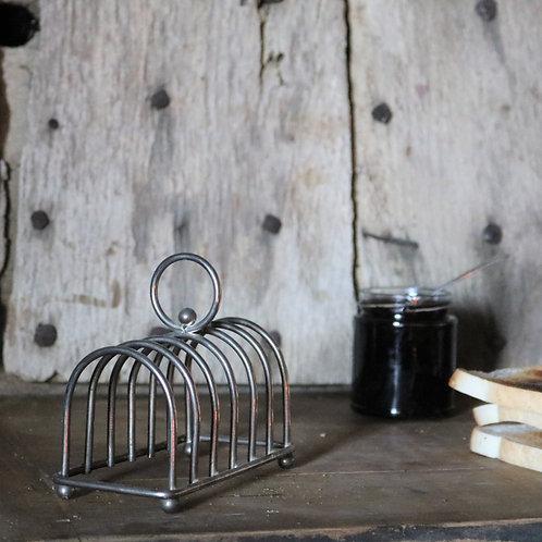 Silver Plate Vintage Toast Rack
