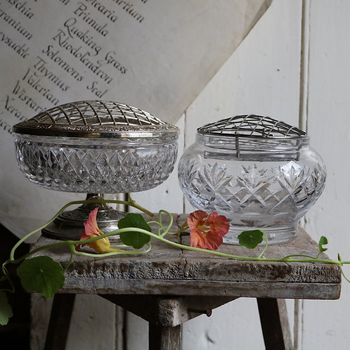 Crystal Rose Bowls