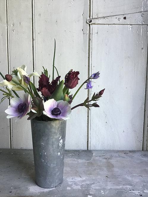 Small Galvanised Florist Buckets (set of 3)