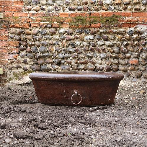 Reclaimed Antique Cast Iron Corner Trough