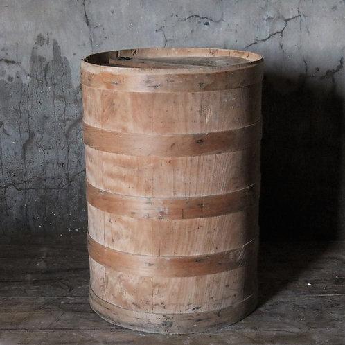 Vintage Bentwood Flour Barrel