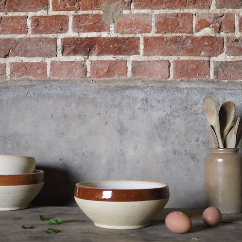 French Rustic Stoneware Bowl