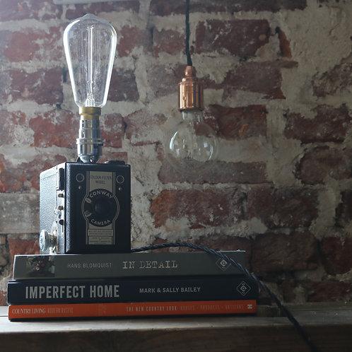 Vintage Conway Camera Lamp