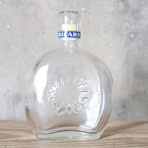 Vintage Ricard Sunflower Water Carafe