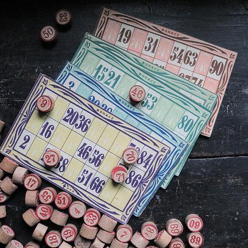 Vintage Bingo Lotto Game