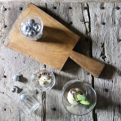 Rustic French Vintage Paddle Chopping Board