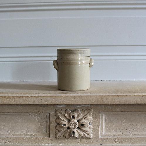Small Stoneware Lidded Pot