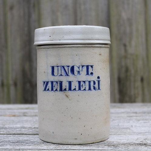 Stoneware Pharmacy Laboratory Apothecary Jar Antique UNGT.ZELLERI