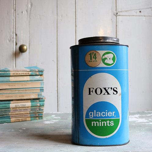 Original Fox's Glacier Mints Tin
