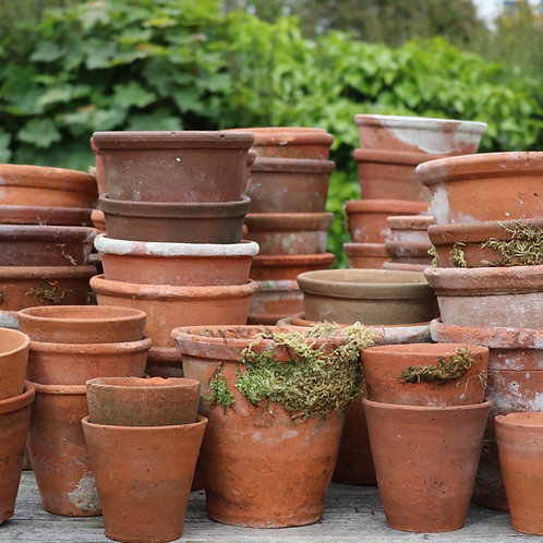 Vintage Terracotta Pots All Sizes.