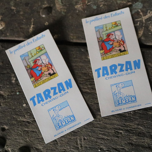 1950's Tarzan Chewing Gum Vintage Promotional Material