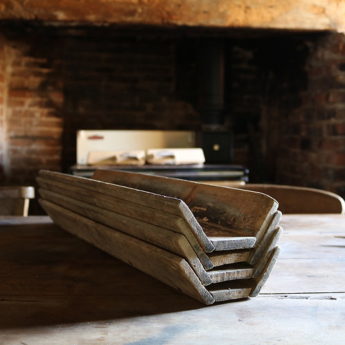 Rustic Baguette Tray - French Vintage