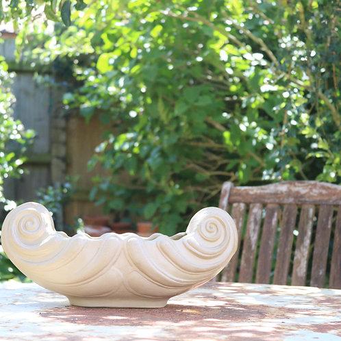 Stoneware Mantle Vase Vintage Hillstonia