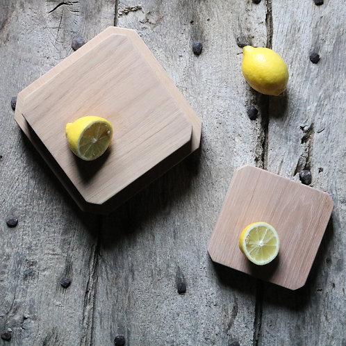 Cocktail Trio Oak Boards