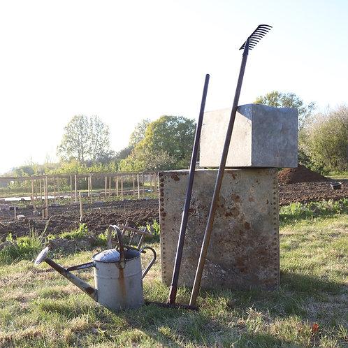 Vintage Garden Tools Rakes