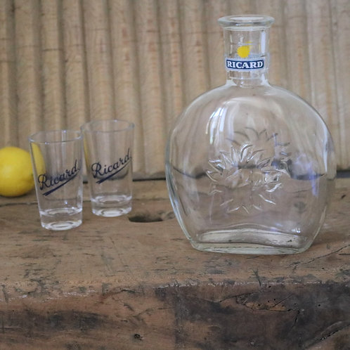 Extra extra large French Vintage Ricard Water Carafe