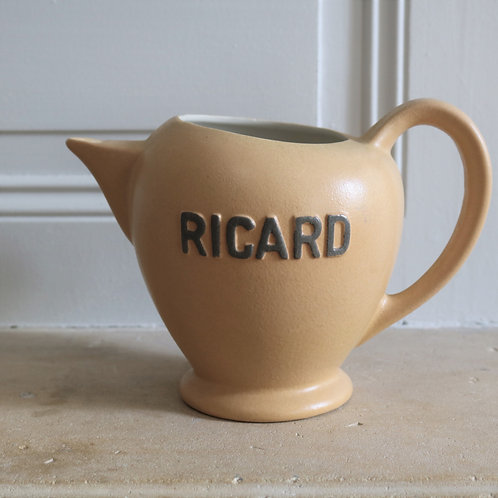 Pale Traditional French Vintage  Ricard Jug
