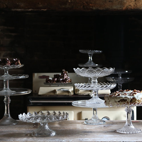 Glass Cake Stand A210mm