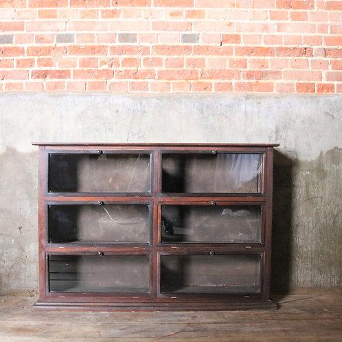 Antique Glazed Haberdashery Cupboard