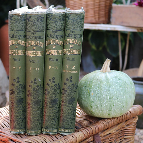 The Illustrated Dictionary of Gardening by George Nicholson 1884